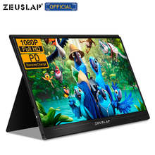 "13.3 ""15.6"" 1080P HDR Portable Monitor HDMI USB Display untuk PC, Laptop, Telepon, PS4, Switch, Xbox HD IPS Layar Gaming Monitor(China)"