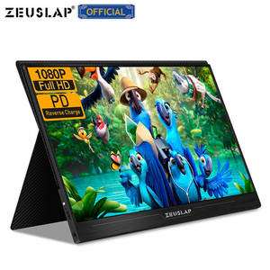 """Image 2 - ZEUSLAP 13.3"""" 15.6"""" HDMI TYPE C 1920*1080P HDR Portable Monitor For Macbook Samsung DEX Switch PS3 PS4 Xbox Raspberry Pi 3 B 2B"""