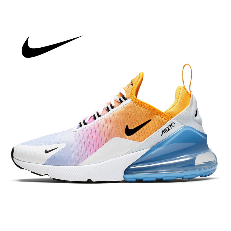 Authentic Nike Air Max 270 Women's Running Shoes Outdoor Sneakers Classic Breathable Comfortable Non-slip High Quality AH6789