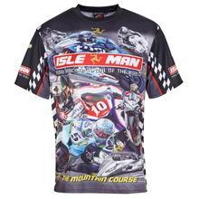 Модная футболка «Мотокросс» с коротким рукавом для езды на мотоцикле по бездорожью