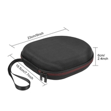 Hard EVA Outdoor Travel Case Storage Bag Carrying Box for Anker Soundcore Life Q20 Wireless Bluetooth Headphone image