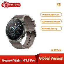 Globalna wersja HUAWEI zegarek GT 2 Pro SmartWatch 4GB 32GB GPS bezprzewodowy 14 dni żywotność baterii wodoodporny Kirin A1 GT2 pro EU Stock