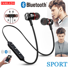 цена на XT6 Bluetooth Earphone Wireless Headset Sport Stereo Headphones Bass Music Earpieces Earbuds With Mic for Xiaomi  iPhone Samsung