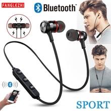 купить XT6 Bluetooth Earphone Wireless Headset Sport Stereo Headphones Bass Music Earpieces Earbuds With Mic for Xiaomi  iPhone Samsung дешево