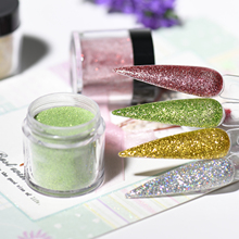 EMA Mixed-Glitter Dazzle Nail ACRYLIC POWDER Extension 180colors 1kg STICK MANICURE Colorful ART Nail ACRYLIC POWDER R4121-R4150