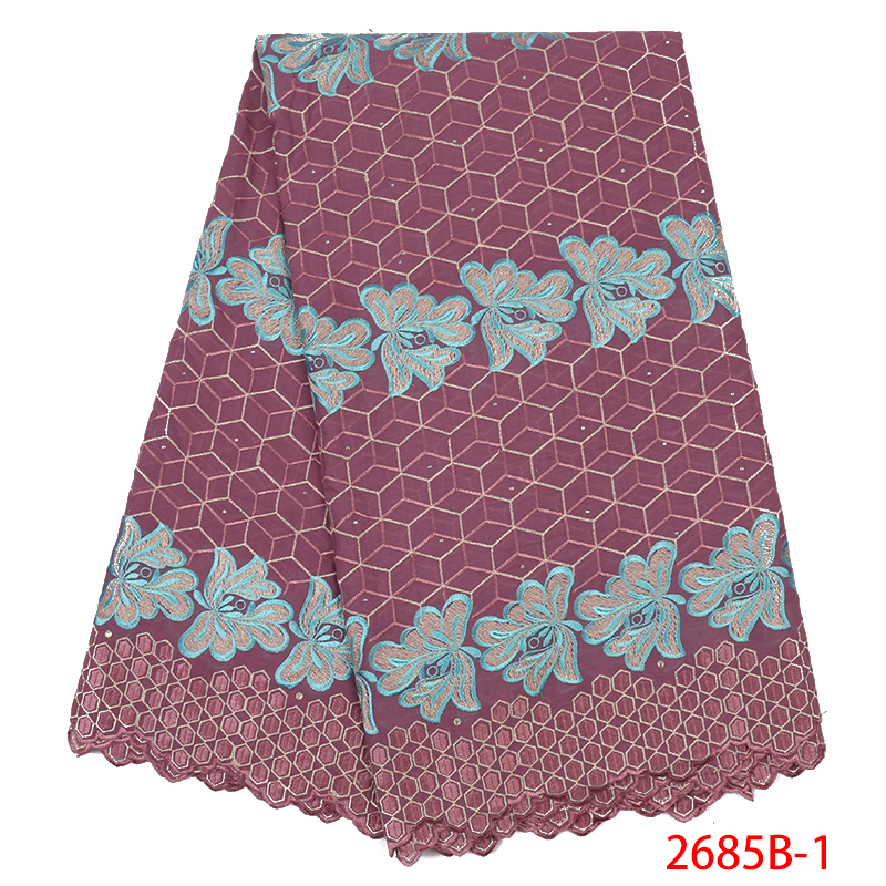 Latest African Laces 2019 Dubai Fabric,Nigerian Lace Material For Women Dresses,Swiss Voile Lace In Switzerland KS2685B-1