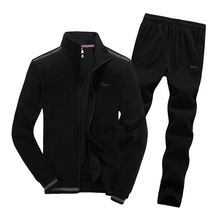 spring autumn men sportswear sweatsuit letter printed zip up jacket sweatshirt+pant jogger running workout outfit set sport suit pacha summer 2011 3 cd