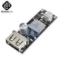 USB DC-DC понижающий преобразователь автомобилей Зарядное устройство понижающий модуль 8 V-32 V постоянного тока до 5V 3A Зарядное устройство монтажной платы Питание монокальция фосфат протокол