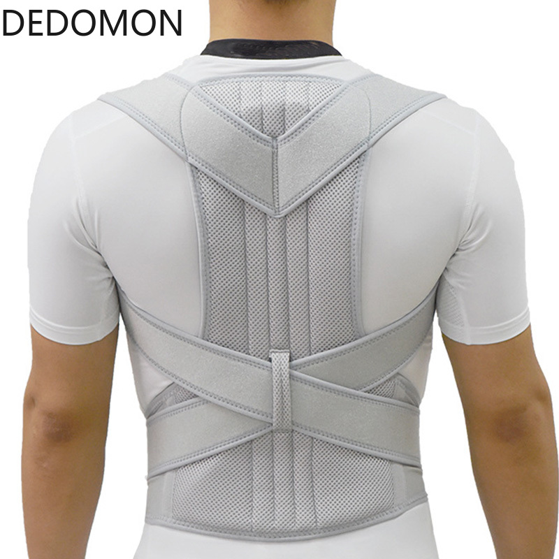 New Upper Back Posture Corrector Posture Clavicle Support Corrector Back Straight Shoulders Brace Strap Correctpor
