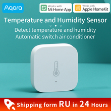 Aqara טמפרטורת לחות חיישן לxiaomi חכם בית סביבת אוויר לחץ חיישן Zigbee חיבור לעבוד עבור Mi בית APP