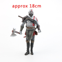 цена на 18cm Hot Sale Toys Game God of War 4 Kratos Action Figure Ghost of Sparta Krat Movable Joints PVC Collectible Model Dolls Gifts