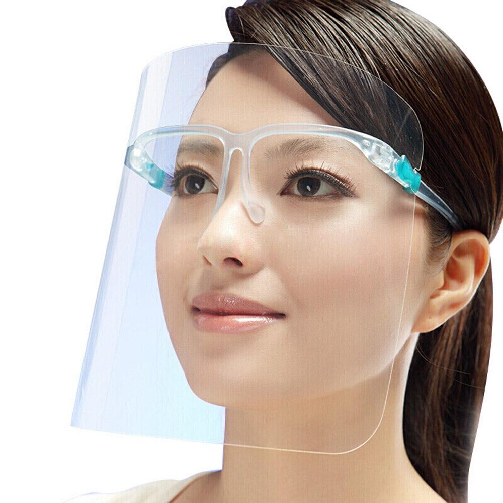 New Creative Protective Face Shield Kitchen Oil Splash Proof Mask Transparent Virus Protection Mask Painting Face Innrech Market.com