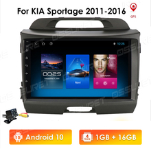New 9inch Android10 2Din Car GPS Navigation For KIA Sportage 2011 2012 2013 2014 2015