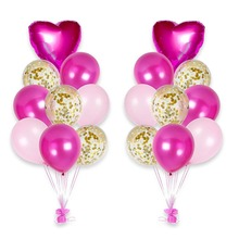 12inch Confetti Balloon 18inch Aluminum Foil Baloons Birthday Party Decoration Kids Wedding
