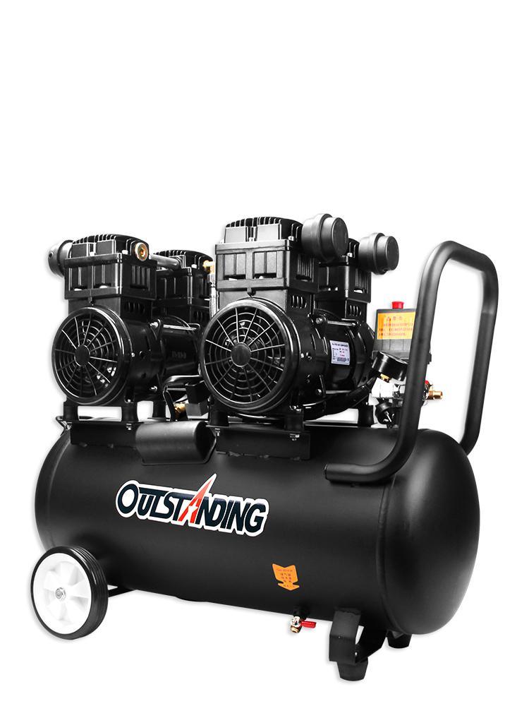 Air Pump Air Compressor Small Air Compressor Ottos Inflatable Oil-free Mute 220v Woodworking Paint Spray Pump