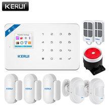 Беспроводная gsm система охранной сигнализации kerui w18 с поддержкой