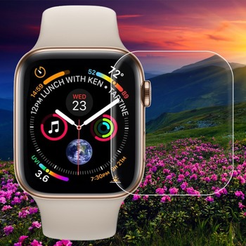 10pcs Tempered Glass for Apple Watch Series 4 40MM 44MM Screen Protector scratch proof Protection for i Watch 4 Screen Cover