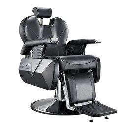 Предоплата скидка 10% Heavey Duty Barbershop магазин салон парикмахерское кресло тату красота резьба бритье наклонная спинка комфорт стул черный