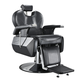 Voorverkoop 10% Off Heavey Duty Barbershop Winkel Salon Kapper Stoel Tattoo Beauty Threading Scheren Kantelen Terug Comfort Stoel Zwart