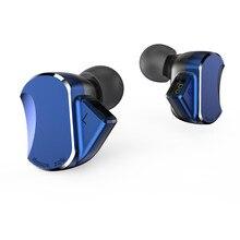 BQEYZ BQ3 3BA + 2DD היברידי באוזן אוזניות Earbud HIFI בס בקרת תהליך ריצה ספורט אוזניות Earbud להסרה כבל KC2 \ f3 \ p1 \ t3 \ k2