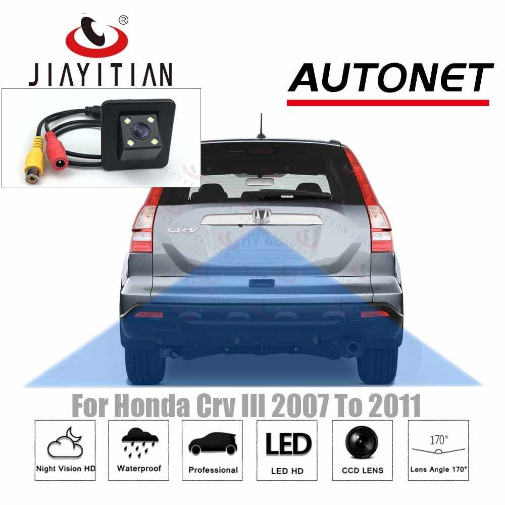 JIAYITIAN Reserved Hole Camera For Honda CR-V CRV III 3th 2007 2008 2009 2010 2011 CCD/Backup Reverse Parking Rear View Camera