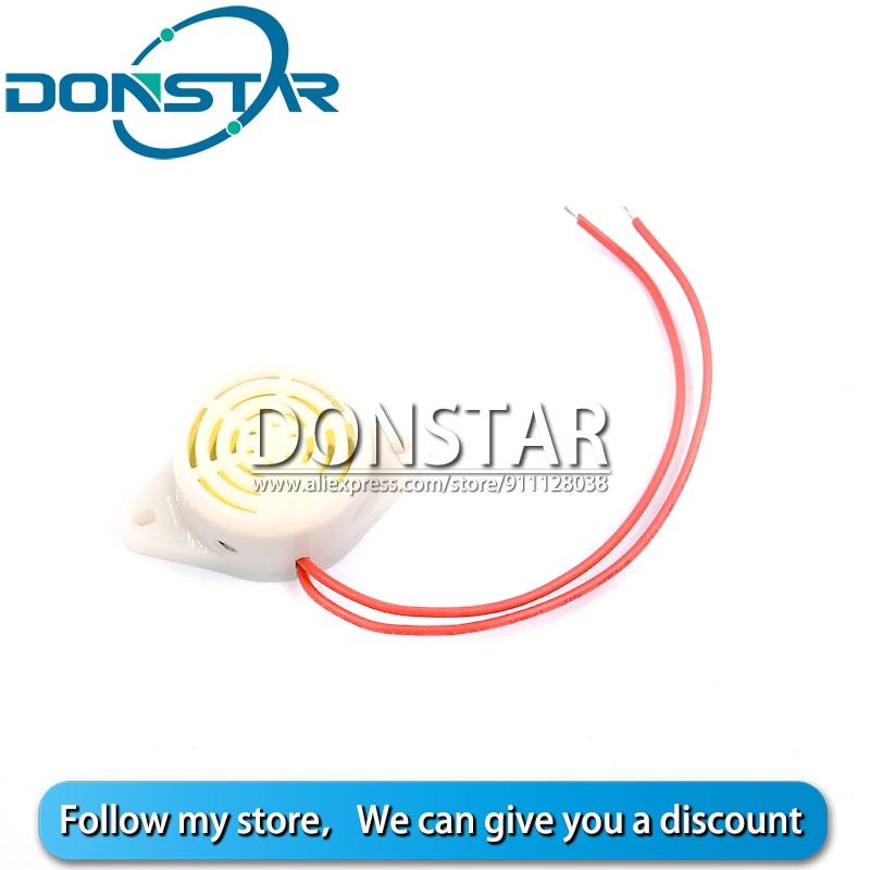 SFM-27 buzzer ativo alto-decibel 3-24v 12v 95db eletrônico buzzer bip alarme intermitente para arduino diy buzzer