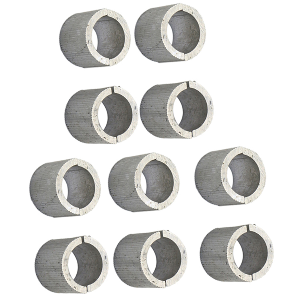 """20 Pcs Handlebar Mounts Risers Clamps Spacers Shims 22mm to 25mm 7//8/""""-1/"""""""