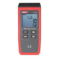 Ut373 handheld lcd digital tacômetro velocímetro tach medidor de medição tocou 0 count 99999 contagem