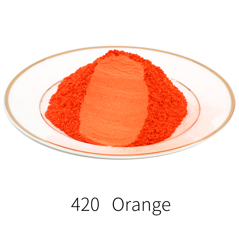 Type 420 Pigment Pearl Powder Mineral Mica Dust Dye Colorant For Soap Automotive Art Crafts 10g 50g Acrylic Paint Mica Powder