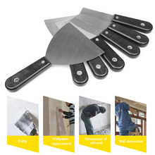 2019 Hot Putty Knife Wall Shovel Scraper Blade Carbon Steel Plastic Handle Shovel Filling Oil Painting Tools