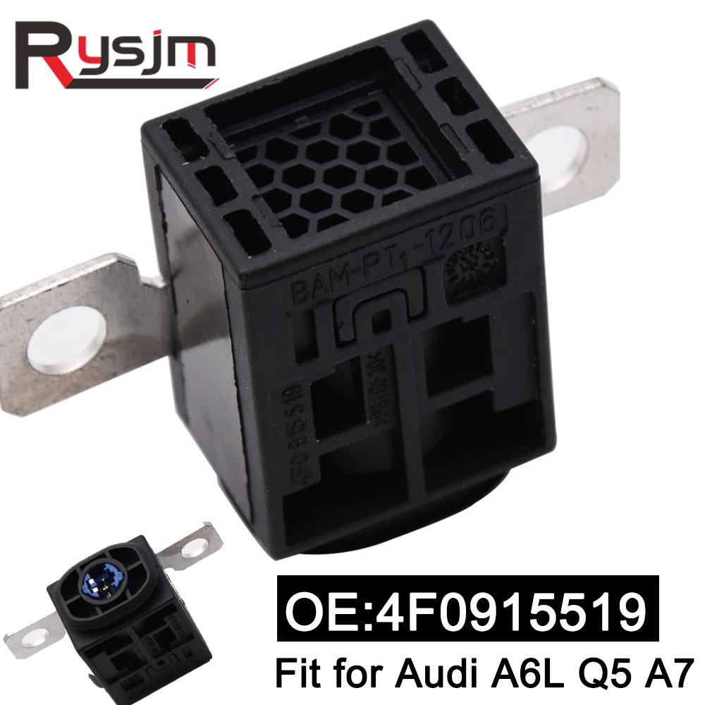 1 pieza de batería de automóvil con fusible de protección de sobrecarga para Audi A6L Q5 A7 4F0915519 estabilizador de voltaje de alta calidad