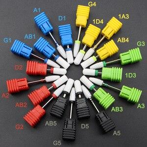 Image 3 - Hoàn Chỉnh Nhất 27 Kiểu Gốm Sứ Móng Mũi Cho Máy Khoan Điện Máy Làm Móng Tay Phụ Kiện Cắt Cối Xay Bằng Sứ Móng Tập Tin Dụng Cụ