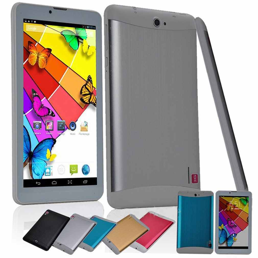 "7 ""Mini Goedkope Tablet pc Andriod 4.2 MTK6572 512 MB/8 GB Dual Core 3G telefoontje dual SIM GPS wifi buletooth GSM/WCDMA"