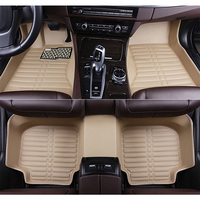 New Customized car floor mats for Volkswagen All Models vw passat b5 6 polo golf tiguan jetta touran touareg car styling auto