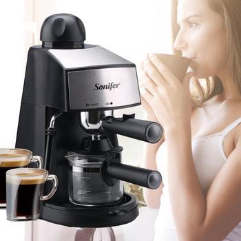 240ml Semi-Automatic Espresso Electric Coffee Machine Express Electric Foam Coffee Maker Kitchen Appliances 220V Sonifer 6