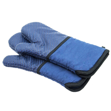 Mitten Microwave Oven Glove Insulated Glove Baking Glove Heat Resistant Terylene Non-slip Mitten 1Pc Potholders Kitchen Tools two layers new producet white cotton heat resistant glove safety working glove cotton glove oven glove protect hands