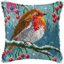 Домашний декор, вышивка крестиком, подушка, крючок с защелкой, наборы, вышивка, ковер, сделай сам, вышивка, подушка, фоамиран для рукоделия, птицы