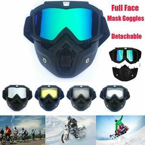 Cycling-Goggles Helmet Snow Retro Sports Full-Face Lightweight Ski Outdoor TPU PC High-Strength