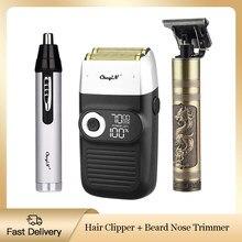 Elektrikli saç kesme makinesi e n e n e n e n e n e n e n e n e n + burun saç düzeltici profesyonel kuaför saç kesici sakal tıraş makinesi erkekler için şarj edilebilir tıraş makinesi tıraş makinesi