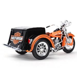 Image 3 - Maisto service voiture de moto en alliage moulé, jouet modèle de moto 1:18 1947