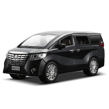 NEW 1:24 1:32 Toyota Alphard Luxury Business Car Model Alloy Pull Back Diecasts Toy Vehicles 6 doors can be opened Free Shipping(China)