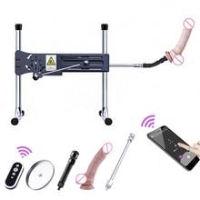 HISMITH Kliclok Sex Machine with App Remote Control Super Quiet Hismith Sex Machine Gear Power 120W Sex Machines for Adults