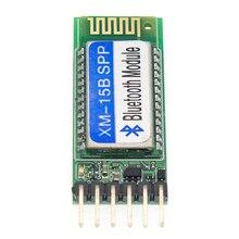 20 Pcs XM 15B Bluetooth Seriële Poort Module Compatibel Met HC 06 HC 05 Master Slave 3 V/3.3 V/ 5V Voorkomen Omgekeerde Verbinding