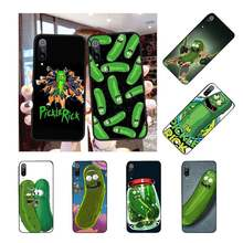 NBDRUICAI Rick and Morty pickle rick Hard DIY Luxury Phone Case for Redmi Note 8 8A 7 6 6A 5 5A 4 4X 4A Go Pro Plus Prime(China)