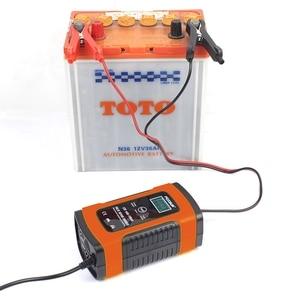 Image 2 - Hot Foxsur 12Vแบตเตอรี่เครื่องชาร์จประเภท12Ah 36Ah 45Ah 60Ah 100Ah Pulse Battery ChargerจอแสดงผลLcd Eu Plug