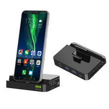 feedme USB HUB Docking Station USB-C to HDMI USB3.0 Dock Power Adapter Type-C Expansion Dock For Huawei P20P30 Pro Samsung S10S9 цена и фото