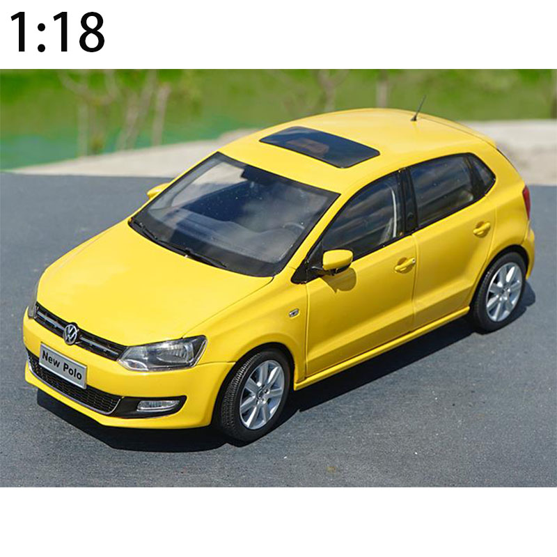 1/18 V Diecast Model Car For GTI 2013 High Simulation Original 1:18 Scale Model Car Collection Gift Free Shipping