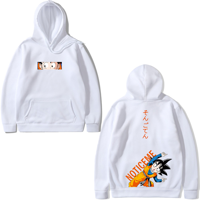 2019 Dragon Balls Fusion Anime Print Man Couples Hoodies Men Women Hooded Sweatshirts Long Sleeve Hoodies Fashion Street Hip-hop