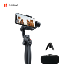 Funsnap Capture2S 3-Axis Handheld Phone Gimbal Stabilizer Focus Pull&Zoom mobile gimbal for tiktok video or youtobe Vlog live