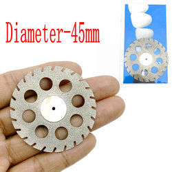 Big Size Dental Lab Polishing diamond Double sided cutting disc for Dental Cutting Plaster Disc Wheel Dental Lab Tool 40&45mm